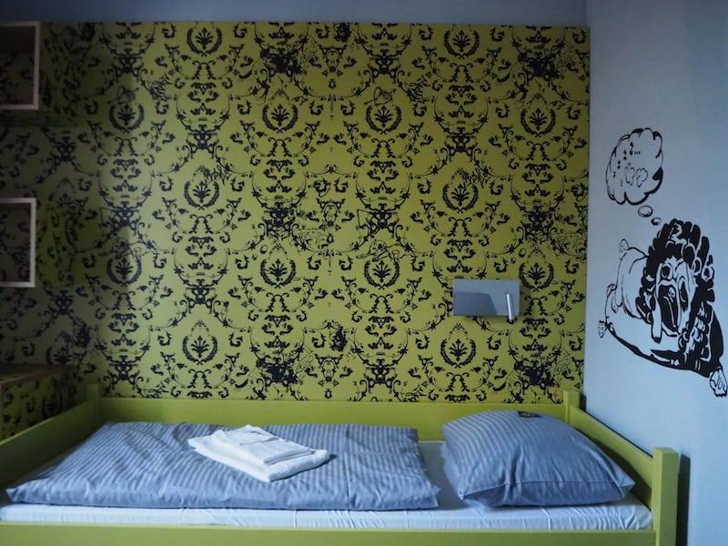 ... verbindet schlichten Komfort, wie hier in meinem Einzelzimmer mit eigenem Bad & WC ...