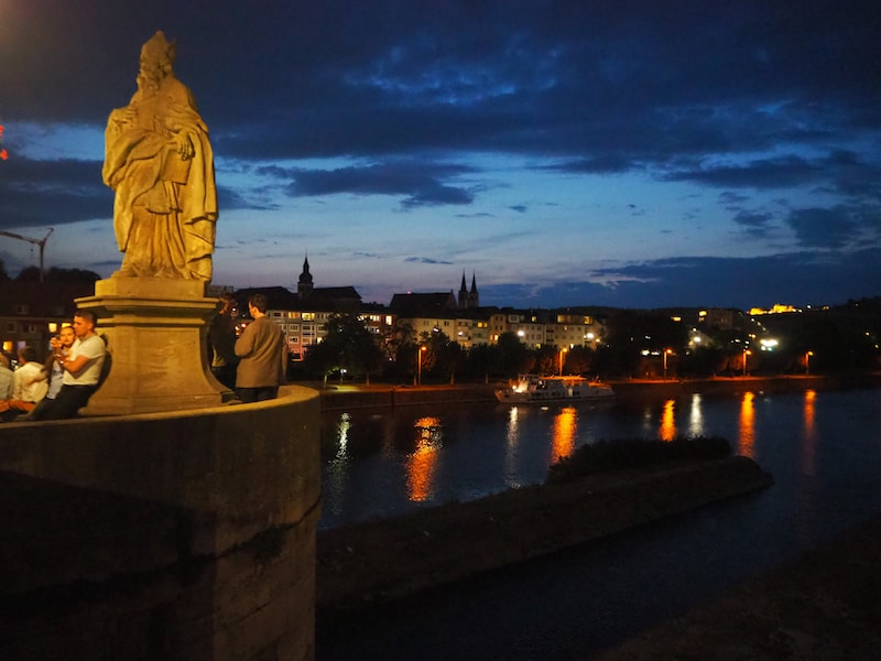 Vielen Dank für diesen zauberhaften Empfang, Würzburg!
