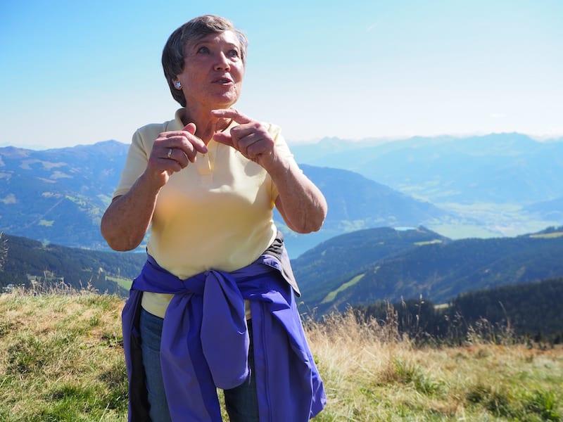 ... entführt uns die liebevolle Christine Sperner, eine Kräuterfrau der ganz besonderen Art ..