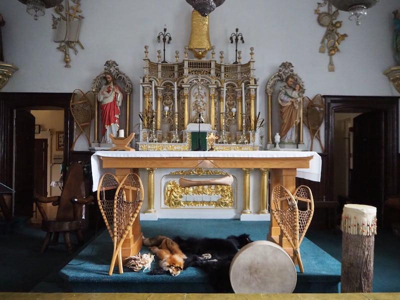 ... ich hab' Euch nicht zu viel versprochen: In der Kirche