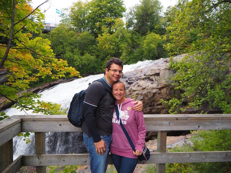 ... wunderschöne Erfahrungen an diesen ersten Tagen in Québec für uns!