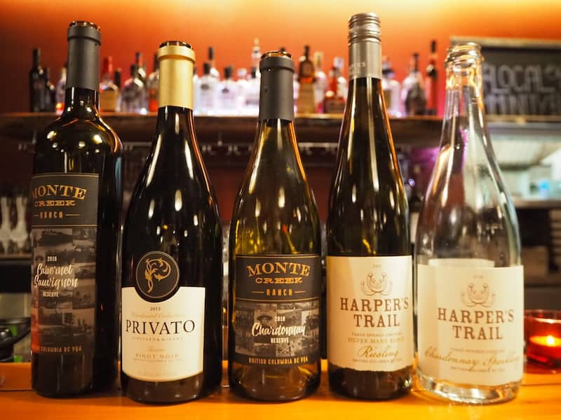 """... auch das """"Terra"""" Restaurant mit seiner Möglichkeit zur Verkostung der Weine aus British Columbia ..."""