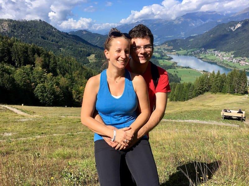 ... Wandern zu gehen, wie hier am wunderschönen Kärntner Weißensee ...