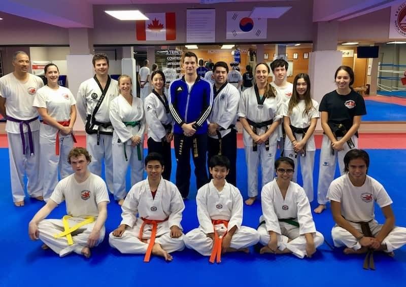 ... sowie dem letzten Training im North Shore Taekwondo in Vancouver als abschließenden (sportlichen) Höhepunkt unserer persönlichen Reise durch Kanada!