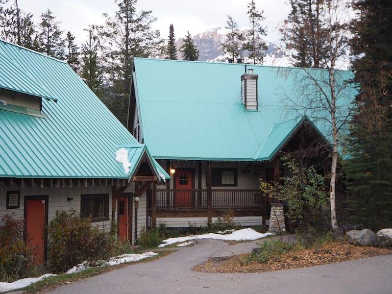 """Unsere Unterkunft im schmucken """"Waldhäuschen"""" der Lodge ..."""