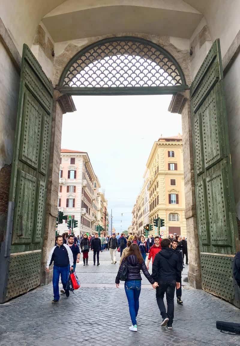... hat mir die Schönheit Roms einmal mehr den Atem geraubt ...