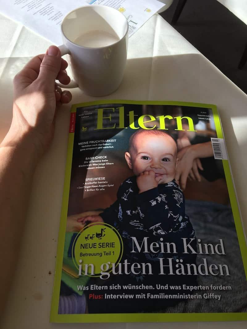 """O-Ton einer lieben Freundin und dreifachen Mama: """"Eltern-Magazine sind maximal was für die Zeit VOR dem Kind. Danach ist kaum Zeit für irgendwas ..!"""""""