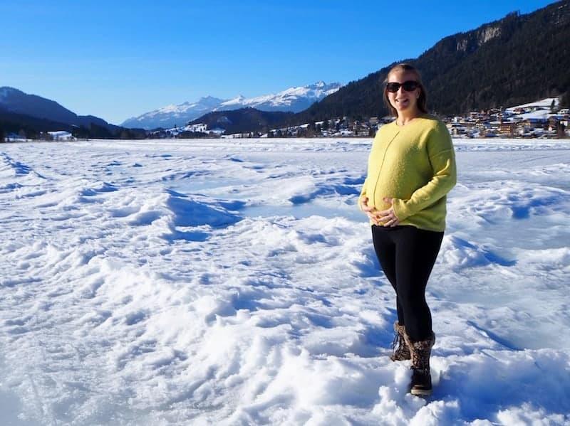 ... künden von einem herrlichen Tag für Winterfans wie mich! Krümelchen, schon heute freu' ich mich auf unsere ersten Ski- und Schnee-Eskapaden !!!