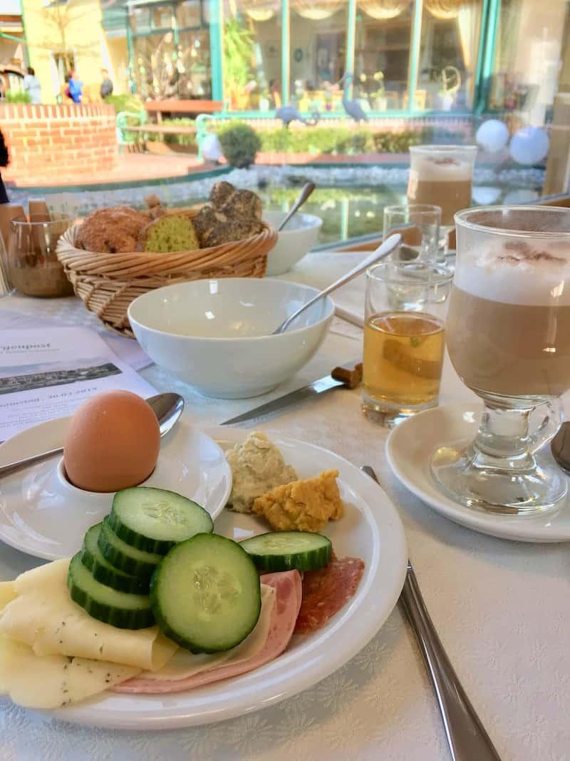 Danke auch für das genüssliche, gesunde Frühstücksbuffet, lieber Molzbachhof!