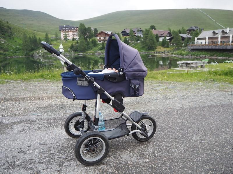 Kinderwagen (mit Babywanne oder Sportsitz) zum Ausleihen fand ich toll ...
