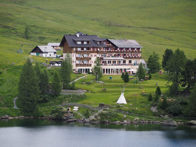Das Heidi-Hotel am Falkertsee ...