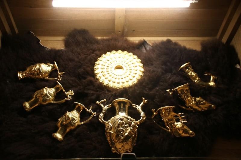 Thrakisches Gold im Historischen Park Varna. (c) Kai von www.teilzeitreisender.de