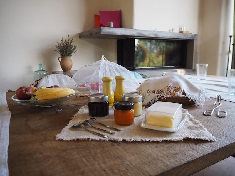 Nach dem Frühstück ...