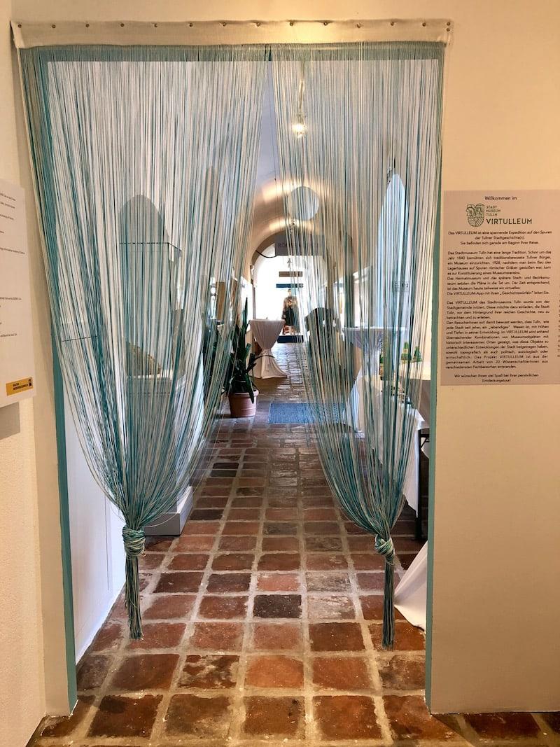 Los geht der digitale Rundgang im Stadtmuseum Tulln ...