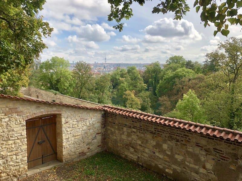Auch rund um die Festung von Prag ...