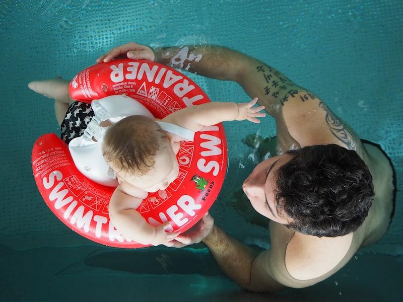 ... bis zum Babyschwimmen im Panoramabad ...