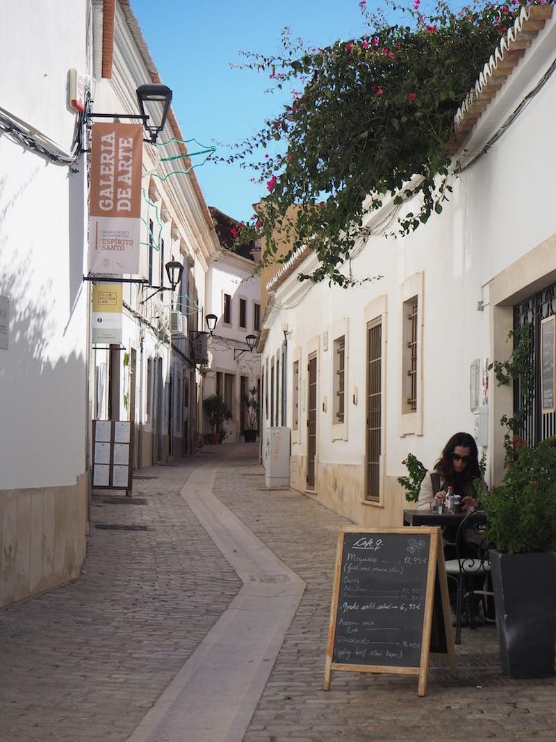 ... weiter geht's in die überaus charmante historische Altstadt von Loulé ...
