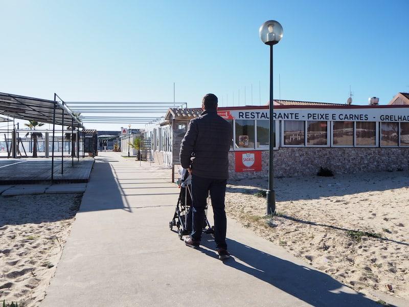 """... kommen wir als einige der wenigen Gäste an diesem Nachmittag auf der Insel, """"Ilha de Tavira"""" an ..."""