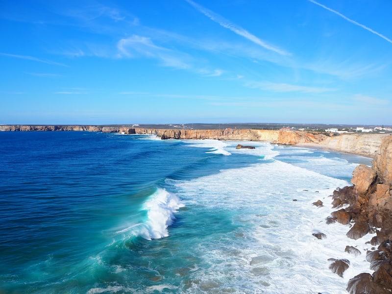 ... hier im äußersten Südwesten von Portugal.