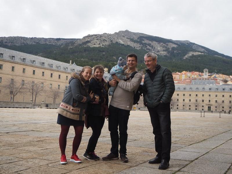 ... und einen Tagesausflug wert: Besuch der vormaligen Residenz der spanischen Könige, El Escorial vor den Toren Madrids.