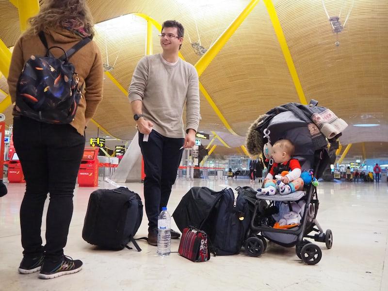 Am Tag darauf heißt es auch schon wieder Abschied nehmen, und wir brechen vom Flughafen Madrid-Barajas gemeinsam nach Hause auf.