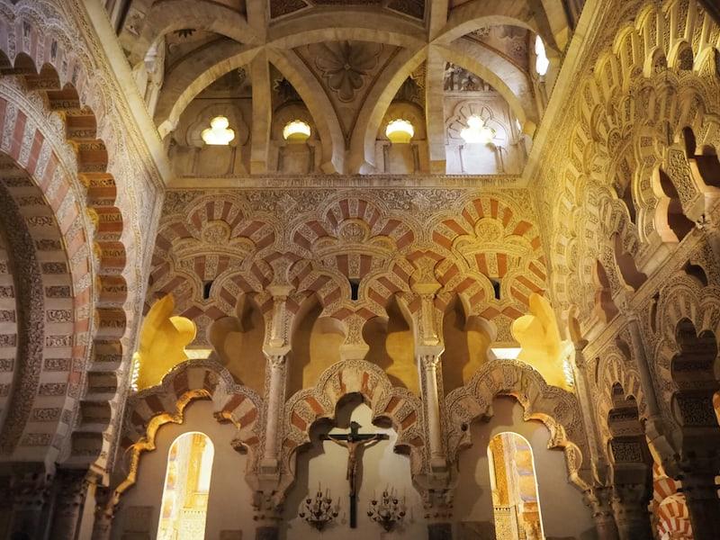 Die Besichtigung der weltberühmten Moschee-Kathedrale von Córdoba ...