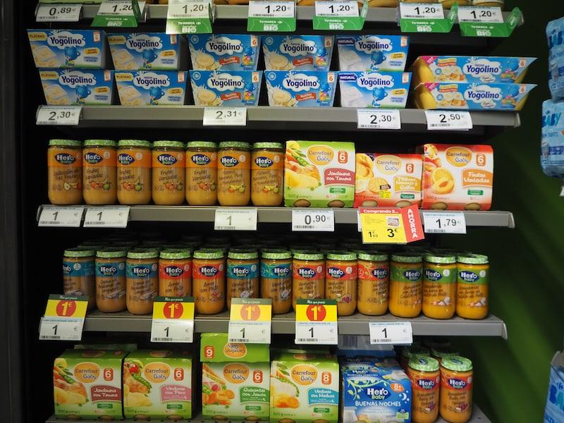 Der Blick ins Supermarkt-Regal verrät ...