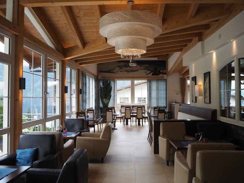 Gemütlich ist es hier im Hotel Alpenroyal ...