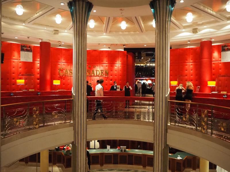 ... auch dem Casino Baden ...