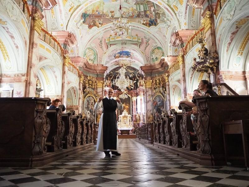 ... offenbart uns Pater August als ein Kunstwerk der barocken Handwerkskunst ...