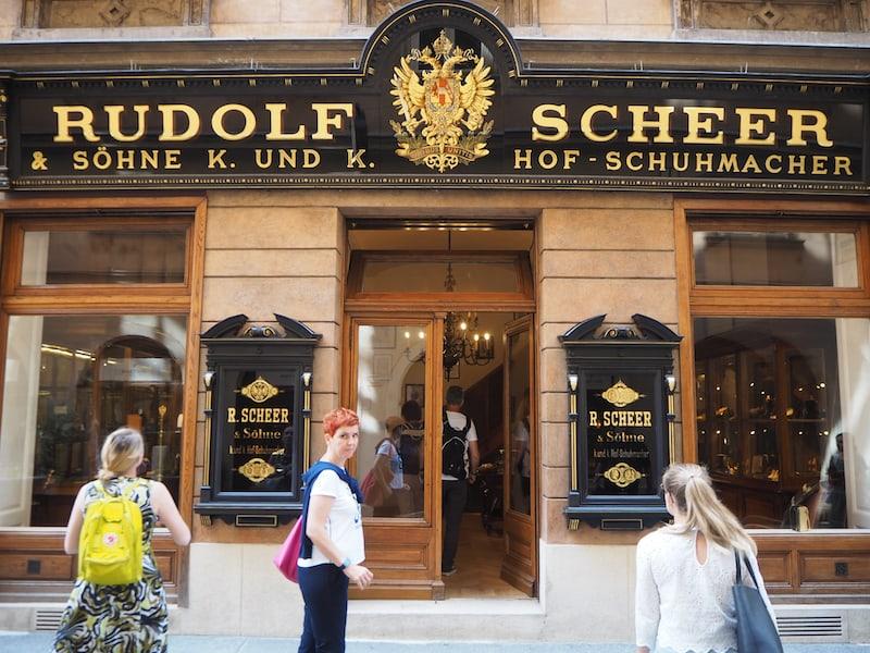 Willkommen bei Rudolf Scheer k.u.k. Hof-Schuhmacher ...