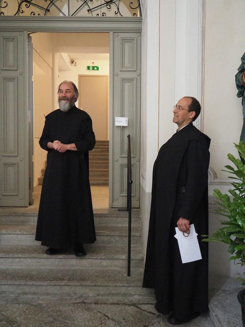 Vielen Dank für die tolle Führung sowie den teilweise großartigen Blick hinter die Kulissen, Bruder Martin und Bruder Theo!