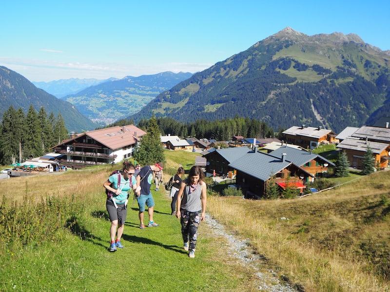 """Los geht's aufs Neue: Tag 2 unseres Reiseblogger-Treffens führt erneut hoch hinaus und """"aufi auf di Berg"""" ..."""