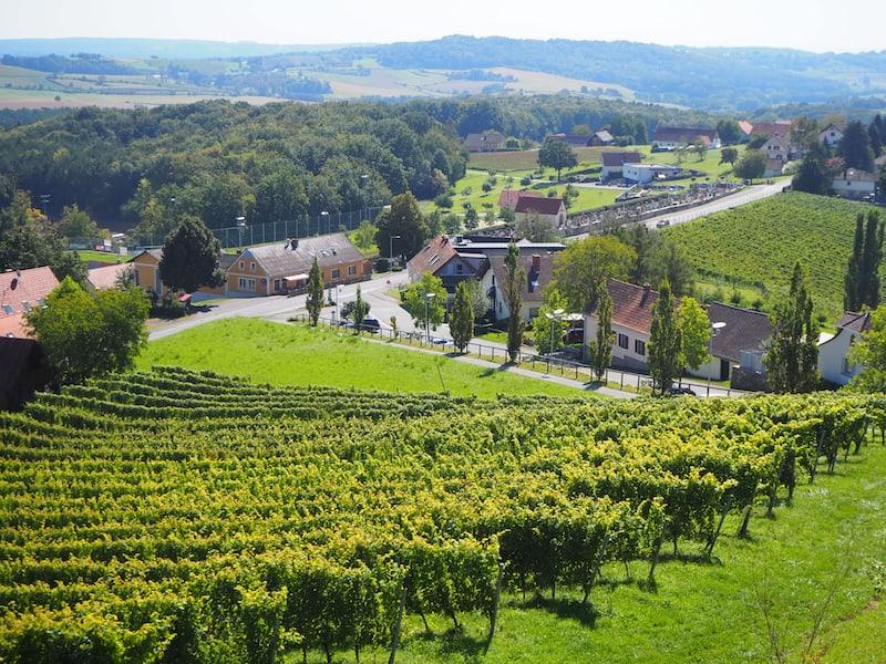 Das Steirische Vulkanland beschreibt eine nahezu märchenhaft-schöne Kulturlandschaft, die ganz auf den hier vorherrschenden Weinbau zurückzuführen ist.