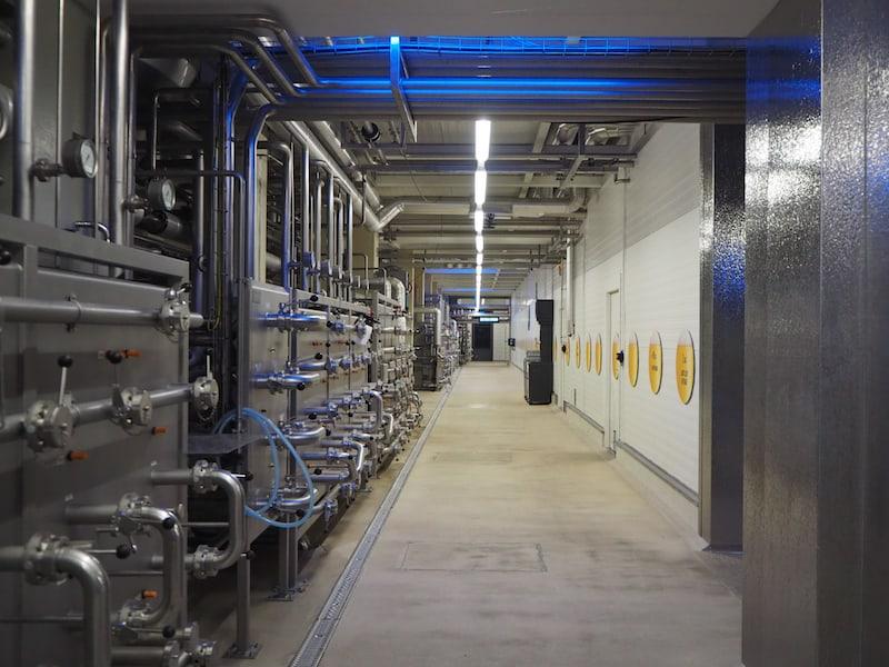 So viel Technik ist notwendig, um Menge und Sortenvielfalt des Freistädter Bieres zu garantieren.
