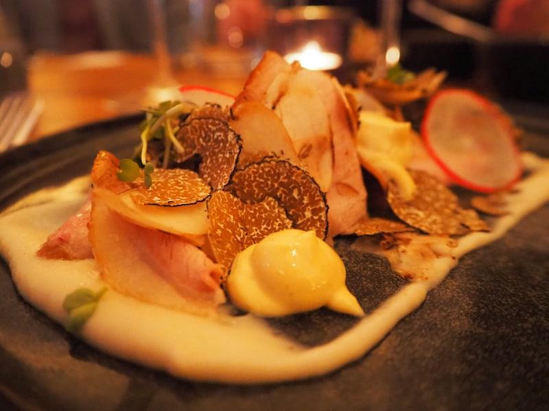 ... mit köstlichem Trüffelgericht im Rahmen des Trüffelfestival Graz.