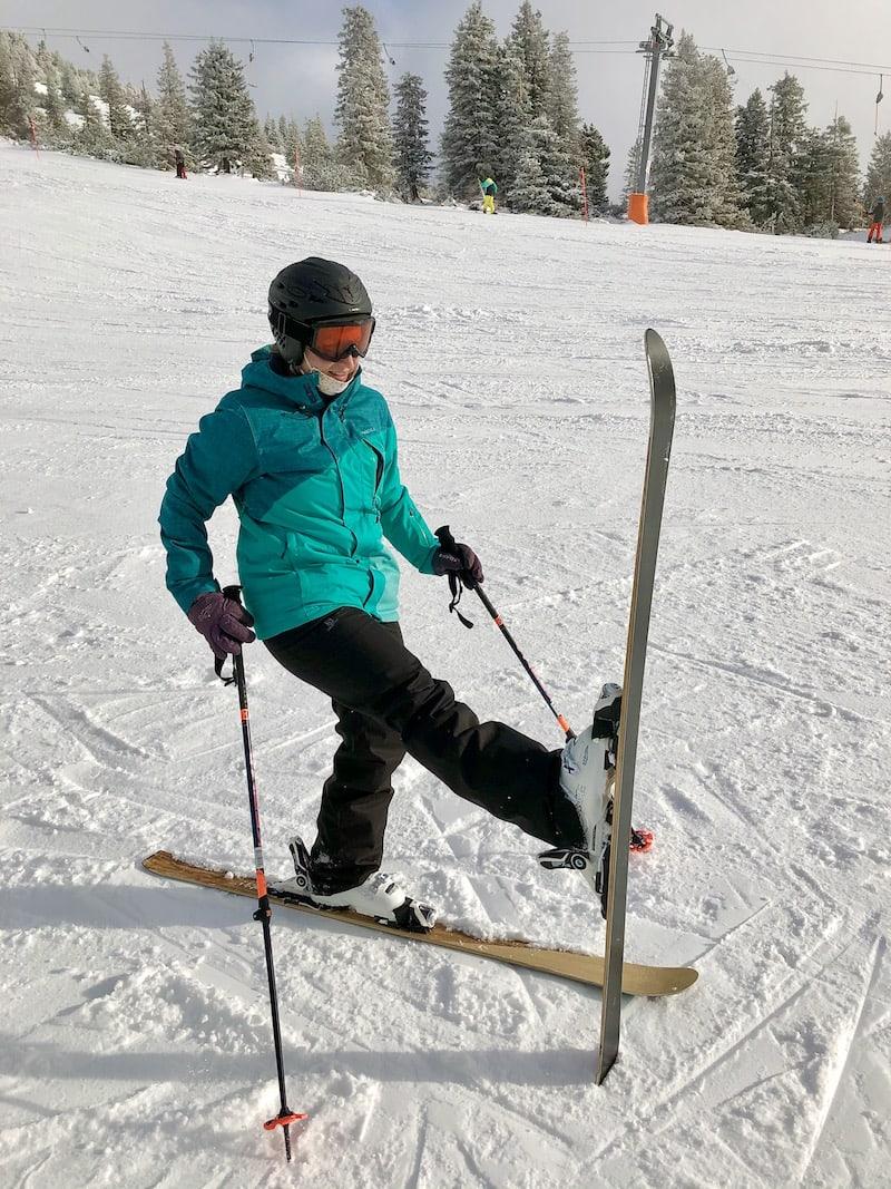 Immer für einen Skitag zu haben ...
