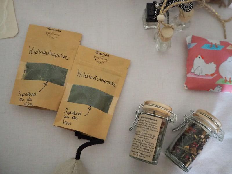 Hier noch ein Blick auf Anita's Kräuterlei-Produkte ...