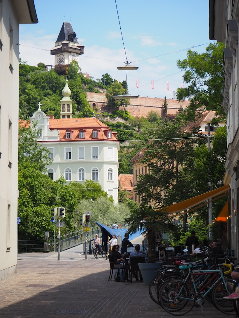 Das ist Graz: An jeder Ecke ein Genuss.