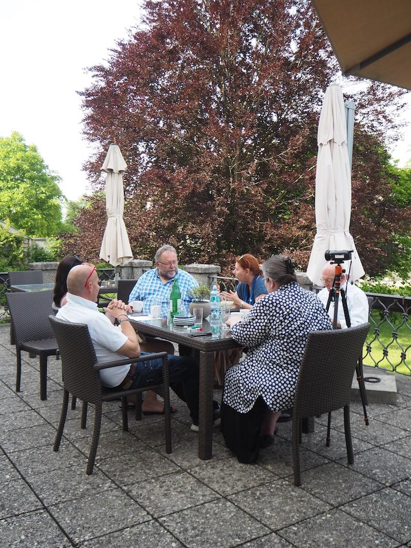 Einladung zur allerersten Gesprächsrunde mit Rektor Rüdiger Kiefer bei den Pallottinern in Salzburg ...