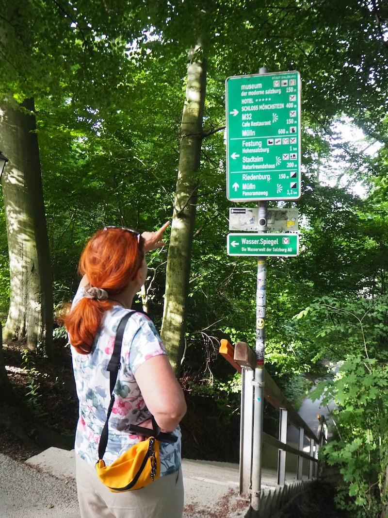 """Der Spaziergang durch die nahe gelegenen Wälder bestätigt uns in der Annahme, dass wir tatsächlich """"mitten in Salzburg"""" sind! Ein wirklicher herrlicher Ort, um für ein paar Tage weg und zur Ruhe zu kommen."""