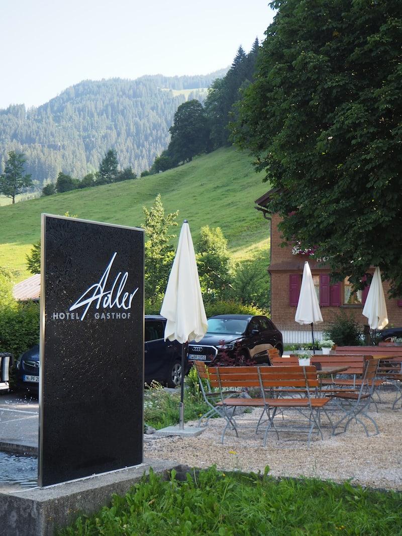 Ankommen in Schoppernau: Das Hotel Adler ...