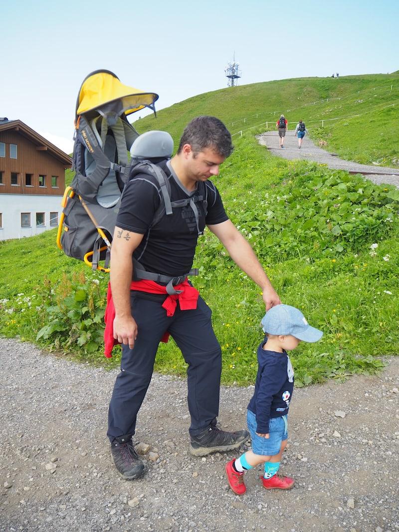 Ich will hoch hinaus: Ab zum Gipfel, Papa!