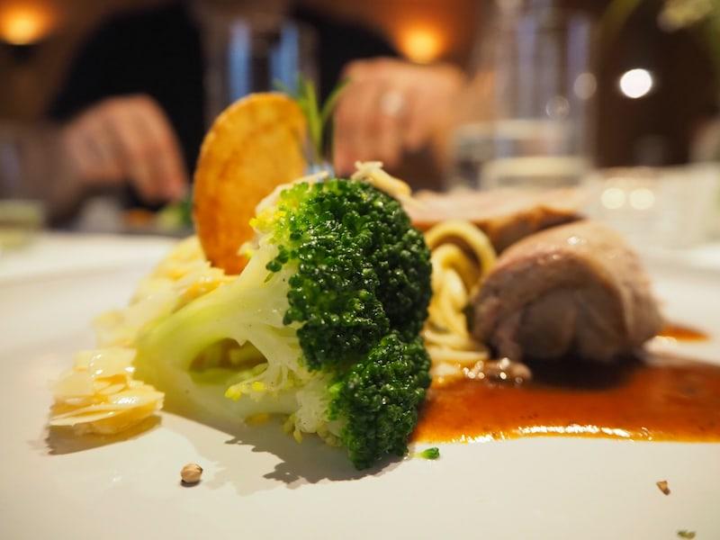 Mahlzeit aus dem Hotel Adler in Schoppernau.