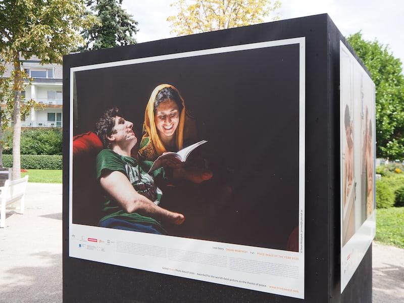 "... besonders berührend: Das Gewinnerfoto des ""Global Peace Photo Award""."