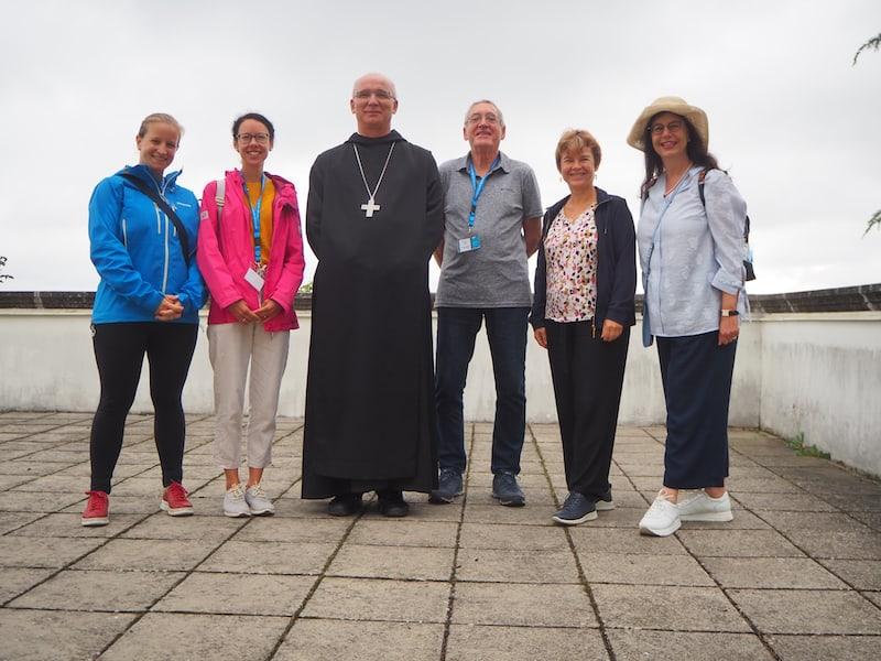 ... vielen Dank auch an Abt Cyrill für die interessanten Gespräche und die kurze, persönliche Führung hier! Es war uns ein Vergnügen!