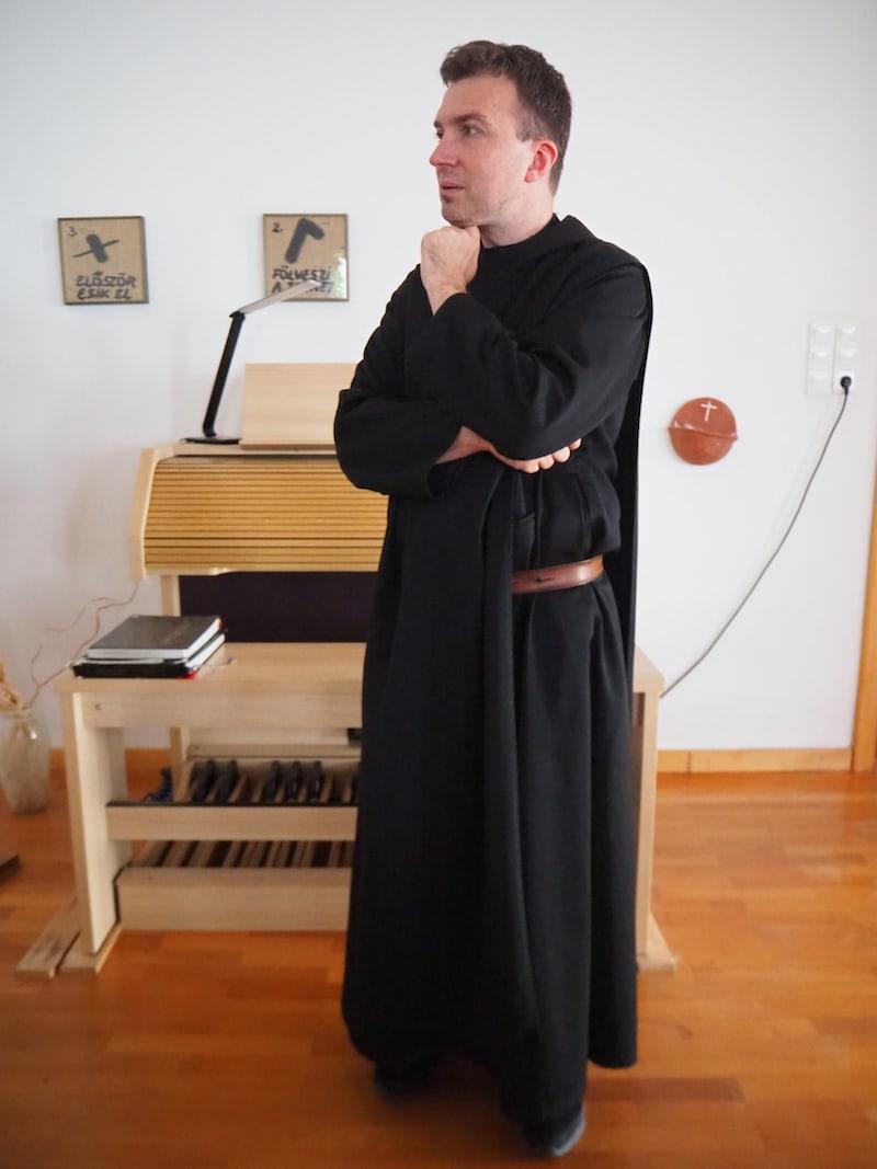 Vielen Dank auch an Pater Albin ...
