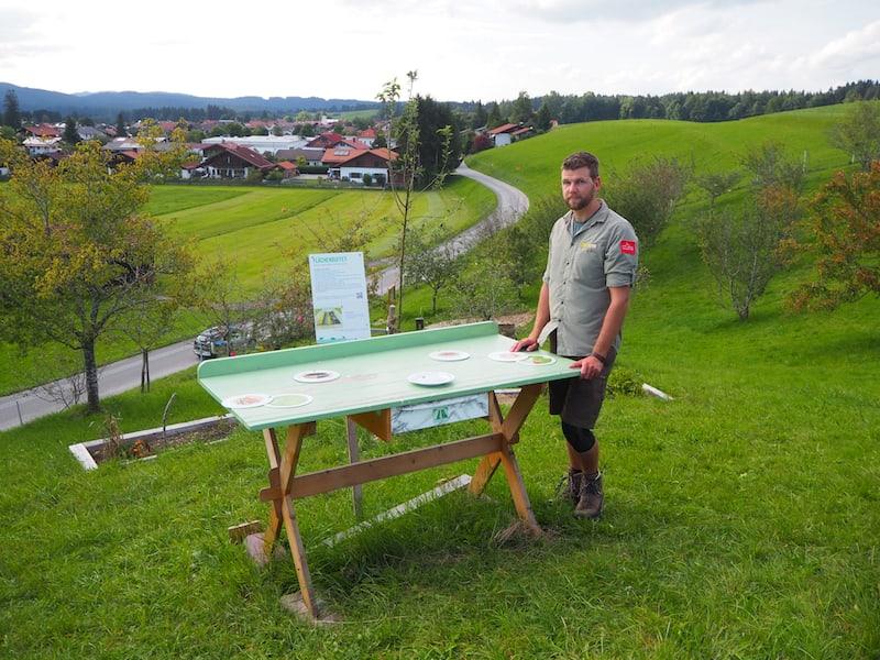 ... wir, das sind Ranger Dominik und ich, der mir in kurzer Zeit alles Wissenswerte rund um die hiesigen Naturpark erklärt.