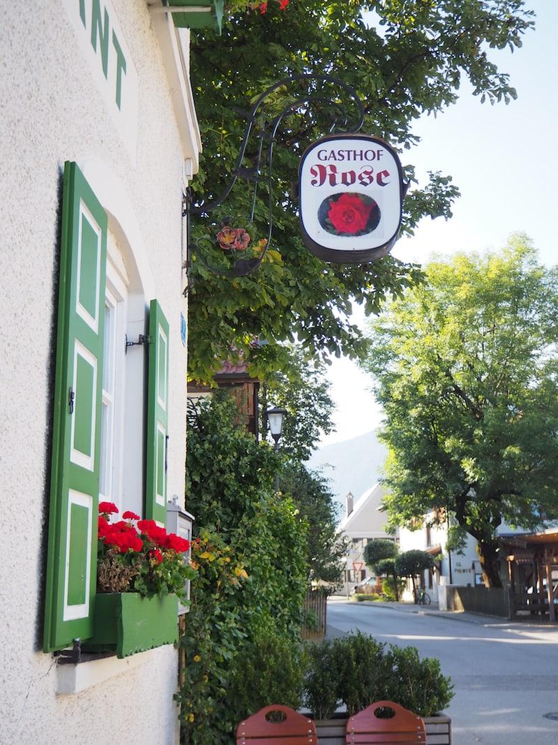 Gasthaus Rose: Typische, regionale Küche mit viel Tradition rund um die Passionsspiele ...