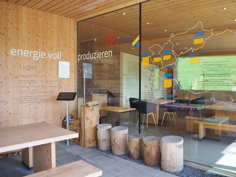 ... und beenden unsere Genuss-Runde mit einem Besuch des Biosphärenpark-Haus in der Gemeinde Sonntag im Großen Walsertal, die auch wunderbar